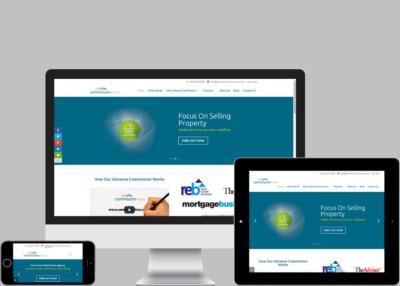 Commission Flow Website Design Project