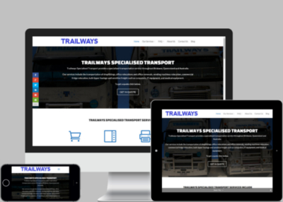 Trailways Website Design Project