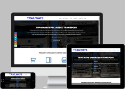 Trailways Website Design Project