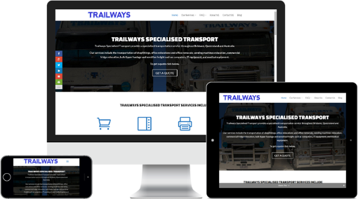 FUEL GROUP WEBSITE DESIGN - RESPONSIVE WEBSITES - TRAILWAYS